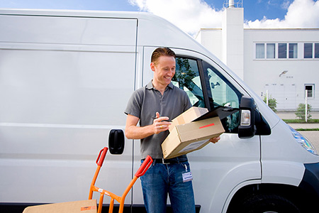 Self Employed Courier